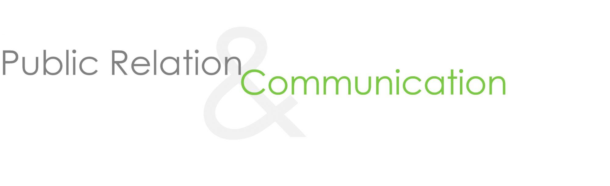 Public Relations & Communication